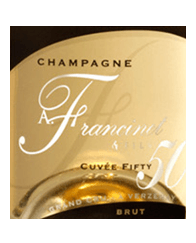 Champagne Cuvée FIFTY  label