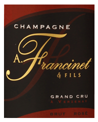 Champagne ROSE label
